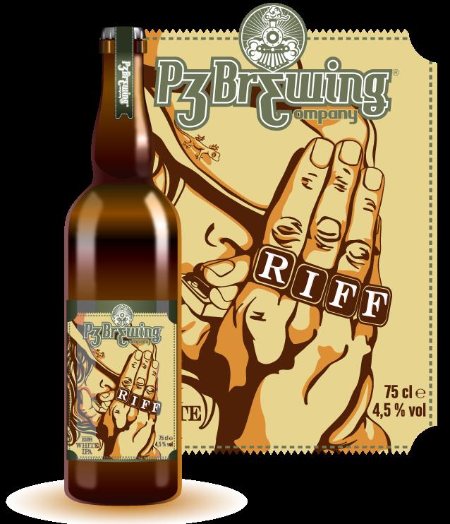 La birra artigianale P3 Riff