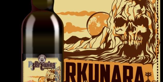 La birra artigianale P3 Turkunara