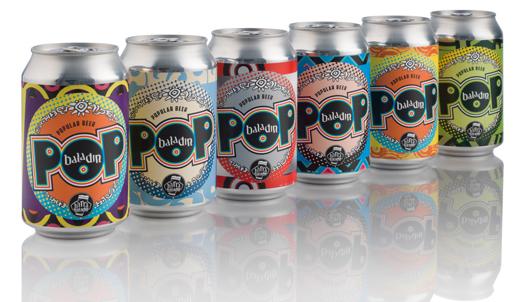 Pop birra artigianale in lattina