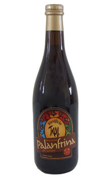 La birra artigianale Palanfrina del birrificio Troll