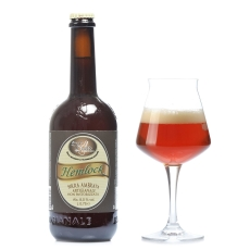La birra artigianale Hemlock del birrificio San Paolo