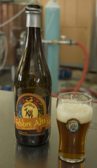 La birra artigianale Febbre Alta del birrificio Troll