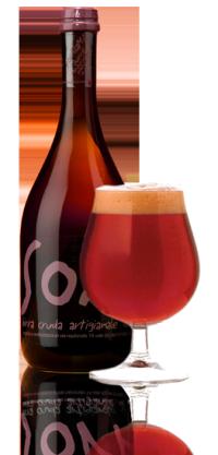 La birra artigianale hurra! del birrificio SorA'laMA'