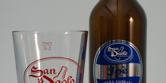 La birra artigianale Ipé del birrificio SanPaolo