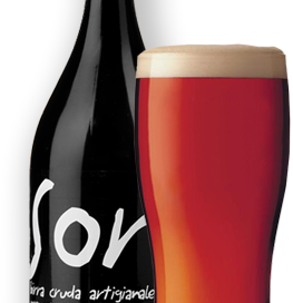 La birra artigianale mmm! del birrificio SorA'laMA'