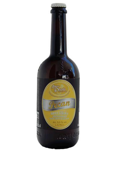 La birra artigianale Pecan del birrificio San Paolo