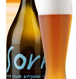 La birra artigianale splash! del birrificio SorA'laMA'
