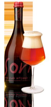 La birra artigianale wow! del birrificio SorA'laMA'
