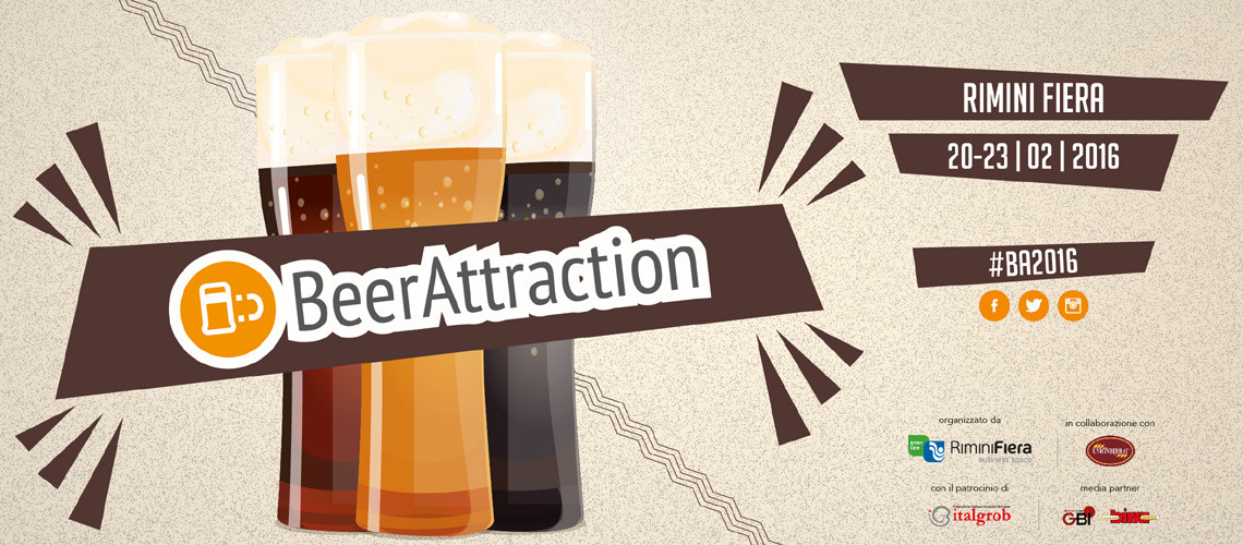 Beer Attraction edizione 2016 Rimini
