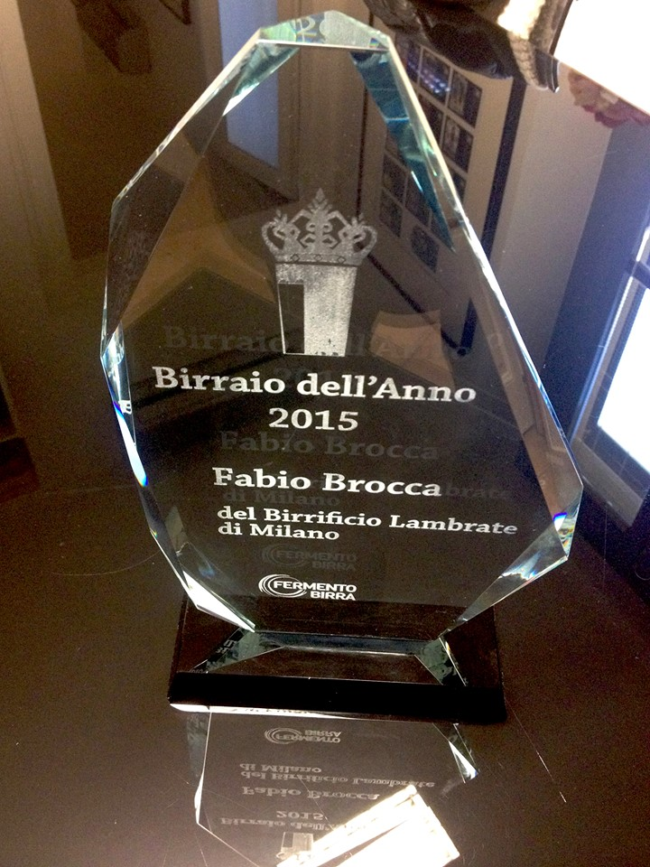 birraio dell anno 2015 birrificio lambrate