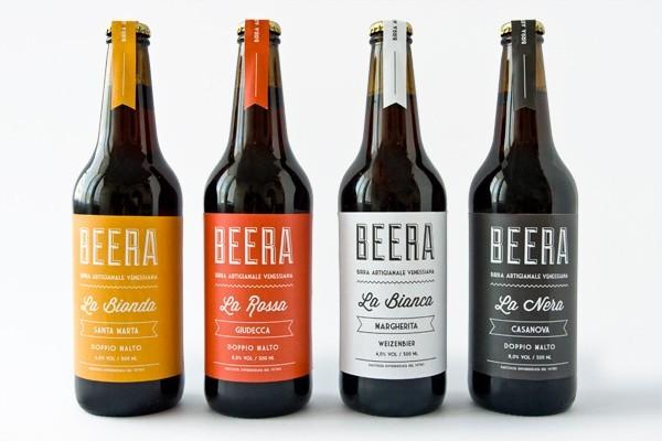 Esempio di etichetta delle birre artigianali