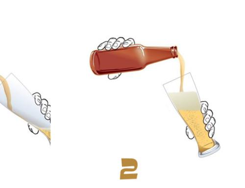 Le 4 regole per versare correttamente la birra artigianale