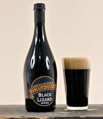 Birrificio Maltovivo. Birra artigianale Black Lizard