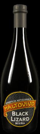 La birra artigianale Black Lizard del birrificio Maltovivo