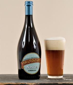 Birrificio Maltovivo. Birra artigianale Noscia