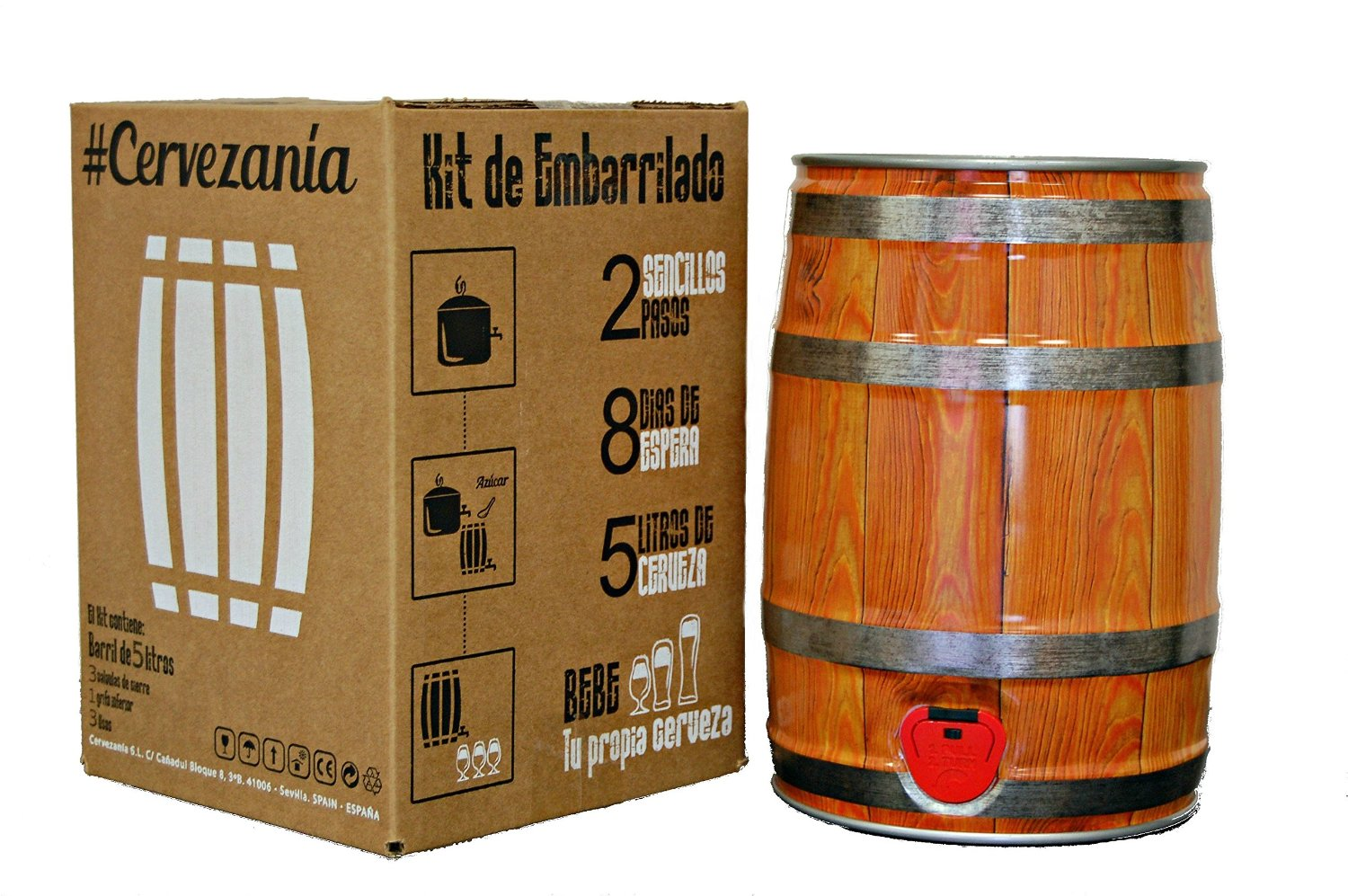 Gadget birra: Party keg set