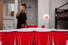 birra pong gadget kit da festa