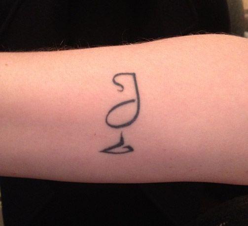 Tatuaggi minimal e concettuali